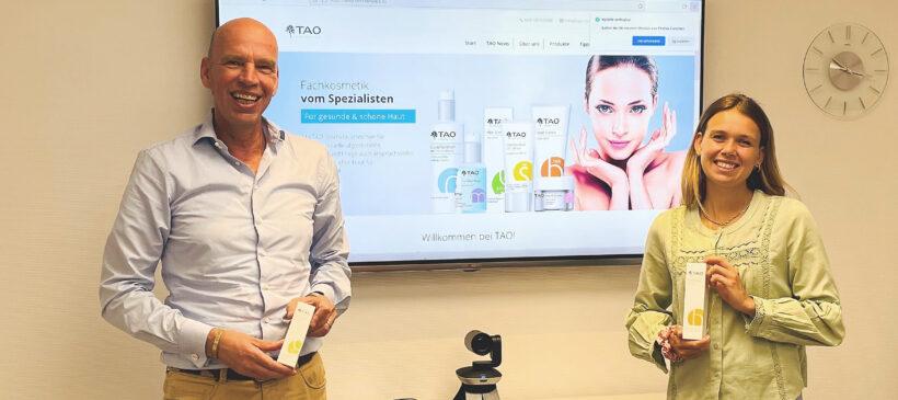 TAO Cosmetics hat ein neues Werbegesicht